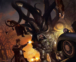 A typical H.P. Lovecraft horror.