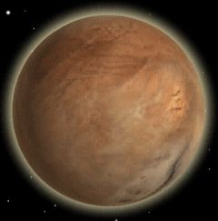 "Arrakis, another famous all-desert planet. (Screenshot from the computer game ""Dune 2000."")"
