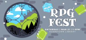 RPG Mini Fest at AADL