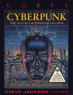 Cover image of GURPS Cyberpunk